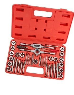 Neilsen 40pc Metric Tap and Hex Die Set in Case Steel Thread Tool M3 to M12 1426