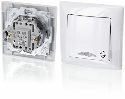 Up On-Off/Two-Way Switch with LED LightingAll-in-one caddy with Flush-Mounted...