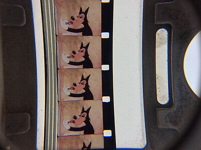 16mm film MIGHTY MOUSE AND THE WOLF rare 40s cartoon movie Terrytoons big bad