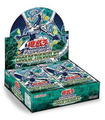 Yugioh VRAINS CODE OF THE DUELIST Japanese Sealed Booster Box KONAMI