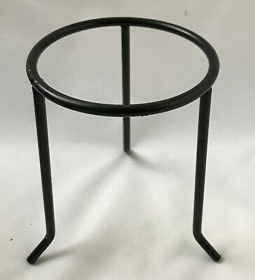 Laboratory Circular Tripod Stand Length 100mm, Height 200mm, Metal Non Flammable