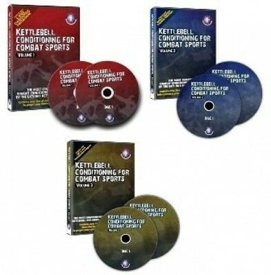 Kettlebell Conditioning For Combat Sports Vol I, II & III Discounted Package