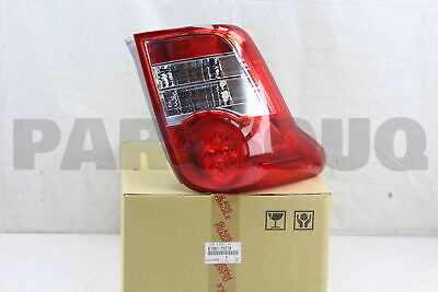 8156113710 Genuine Toyota LENS & BODY, REAR COMBINATION LAMP, LH 81561-13710