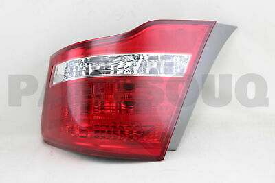 8155112B40 Genuine Toyota LENS & BODY, REAR COMBINATION LAMP, RH 81551-12B40