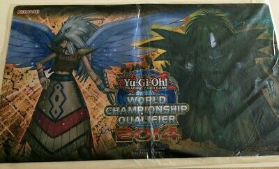 Yugioh GUARDIAN EATOS/ DREADSCYTHE Playmat (WORLD CHAMPIONSHIP QUALIFIER 2014, S