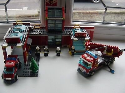 Lego City Firestation 7945 2999 Picclick Uk