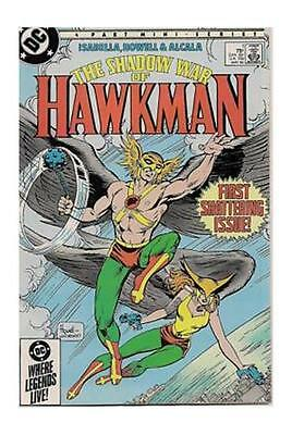 The Shadow War of HAWKMAN Issue #1 [DC 1985] VF  STOCK IMAGE