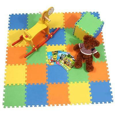 Mat Puzzle Foam Play Baby Floor Kids Eva Carpet Soft Mats Activity Rug Learn