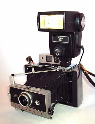 Electronic Flash  for Polaroid Pack Film Cameras (100, 250, and others)