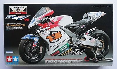 TAMIYA 1/12 team LCR Honda RC211V 2006 MotoGP #14108 scale model kit