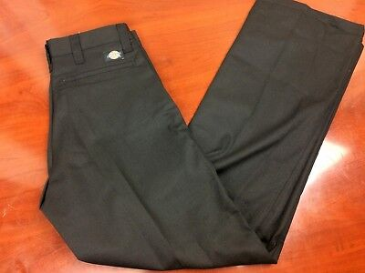 Dickies New! Mens Work Pants Industrial Straight Leg Various Sizes Black NWT!