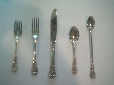 Towle OLD MASTER Vintage Sterling Silver Service for 8 PLUS 6 Serving Pieces