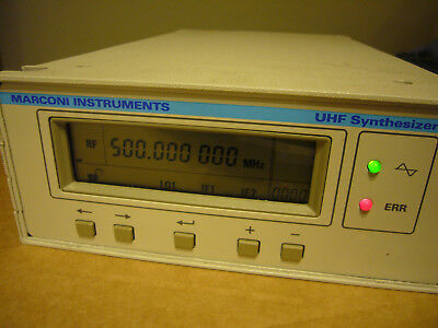 Marconi 2110 UHF Synthesizer