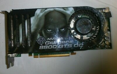 BFG Nvidia GeForce 8800 GTS OC 320MB GDDR3 PCI E Video Card BFGR88320GTSOCE