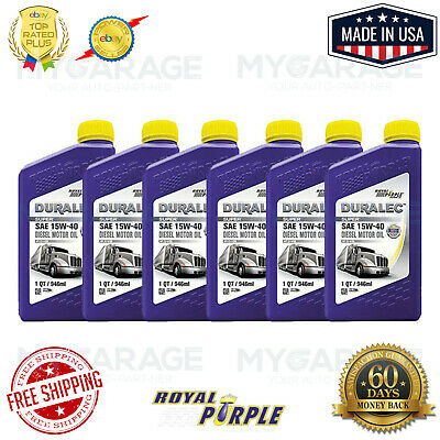 Royal Purple High Performance Synthetic Motor Oil 01154 Pack of 6 NEW!!