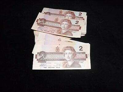 Bank Of Canada 1986 $2.00 Uncirculated Note