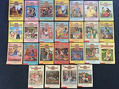 Ann M Martin Baby-Sitters Club Book Series Vintage Super Special Children YAdult
