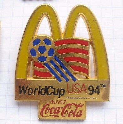 M / COCA-COLA / WORLD CUP USA 94 / LOGO   .....großer  Pin (135j)