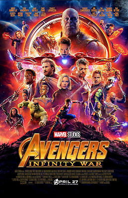 Avengers Infinity War Movie Collector's Poster Print