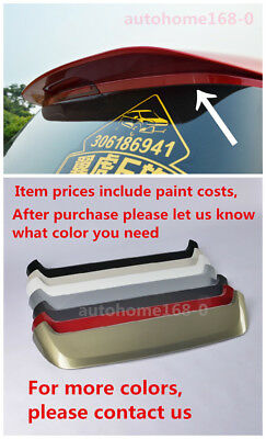 Deflector Paint Sports Rear Wing For 2013-2017 Ford Kuga Escape Rear Spoiler