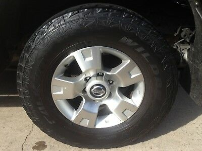 Nissan Patrol Gu Wheels 17 Inch Factory Rims With Tyres 1998/2012