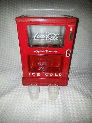 1950's Linemar Japan-COCA-COLA SODA DISPENSER-BANK-Excellent-Ships Worldwide