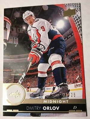 2017-18 UD Series 2 DMITRY ORLOV #441 Midnight 21/25 Toronto Spring Expo 2018