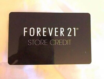 Perfect gift for the style conscious and trend-savvy shopper. Forever 21 gift card makes the perfect gift for any holiday, on special occasion or anytime of the year!