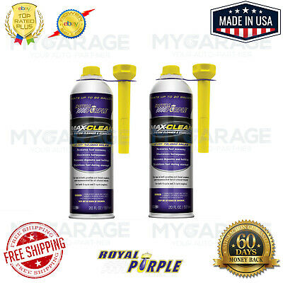 Royal Purple Max Clean Fuel System Cleaner & Stabilizer 11722 Pack Of 2