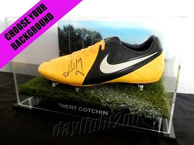 ✺Signed✺ TRENT COTCHIN Boot PROOF COA Richmond Tigers 2017 2018 Guernsey
