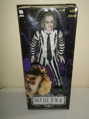 """BeetleJuice Neca 18""""Inch Figure. Brand New. Never Opened. Near Mint Condition"""