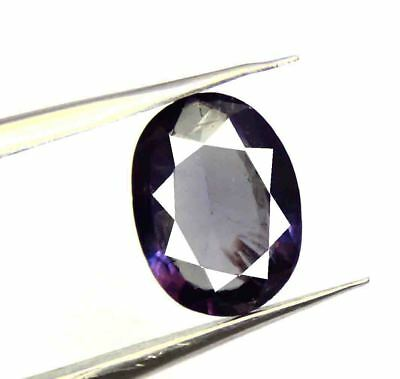 4.45Ct EGL Certified Natural Oval Cut Color Changing Alexandrite Gemstone AQ1546