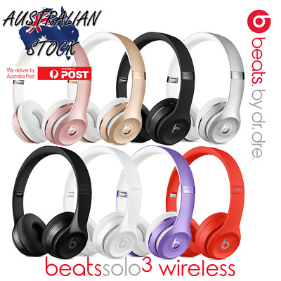 The New Beats Solo3 Wireless On Ear Headphones - In Box (All Colours) EXPRESS