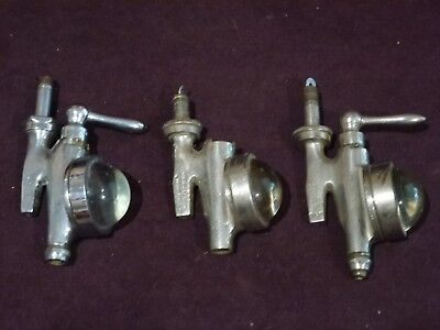 Three Vintage Spirit Dispensers (2 are Gaskell and Chambers)