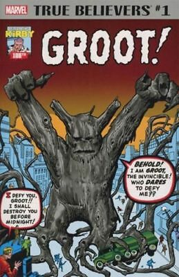 True Believers Kirby 100th Groot #1 - New/Unread