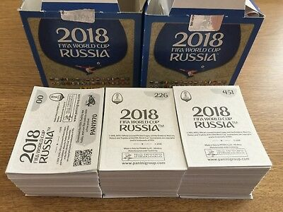Panini Mundial World 2018 Rusia - Elige Cromos Básicos / Pick Base Stickers