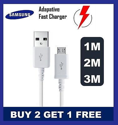 Genuine Original Samsung Galaxy A3 A5 J5(2015- 2016)Fast Charger USB Cable