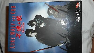 lone wolf and cub collection dvd boxed set