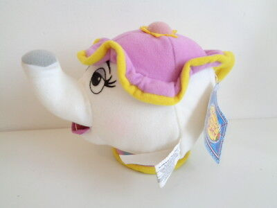 "*rare* Disney On Ice Beauty And The Beast ""mrs Potts"" Soft Toy Teapot - With Tag"