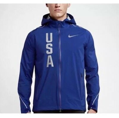 sale retailer 991f2 462e2 Nike Hypershield Olympic Team USA Jacket Size Men s Large MSRP  350 Rio  Olympics