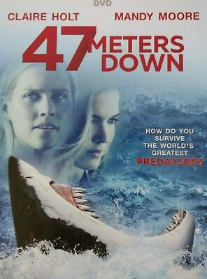47 Meters Down (DVD, 2017): Claire Holt, Mandy Moore
