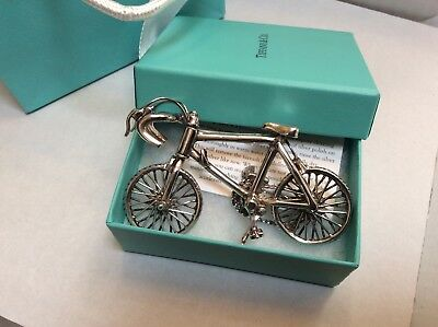 Tiffany & Co Miniature Bicycle Sterling Silver