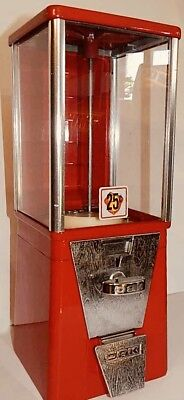 Oak Gumball Candy Machine - Made In USA FREE SHIPPING ANYWHERE IN CANADA.