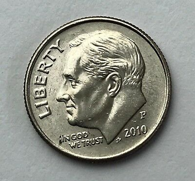 Dated : 2010 - American Coin - Roosevelt - One Dime - United States of America