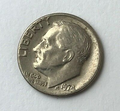 Dated : 1974 - American Coin - Roosevelt - One Dime - United States of America