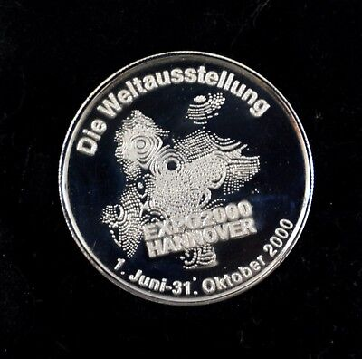 Medaille EXPO 2000 Hannover