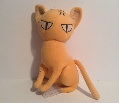 "13"" Kyo (Sohma) Fruits Basket Funimation Plush Orange Cat Stuffed Animal (2004)"