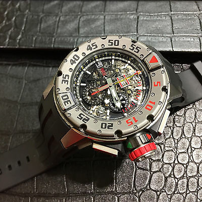 Richard Mille RM032 Titanium Chronograph Flyback with Annual Calendar 50mm