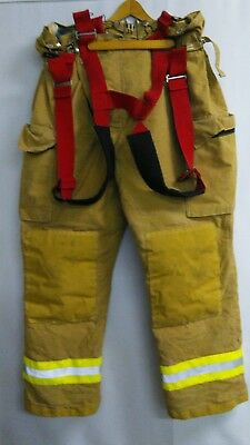 44-32 Pants Firefighter Turnout Bunker Fire Gear