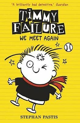 Timmy Failure We Meet Again by Stephan Pastis New Paperback 9781406363715 MB